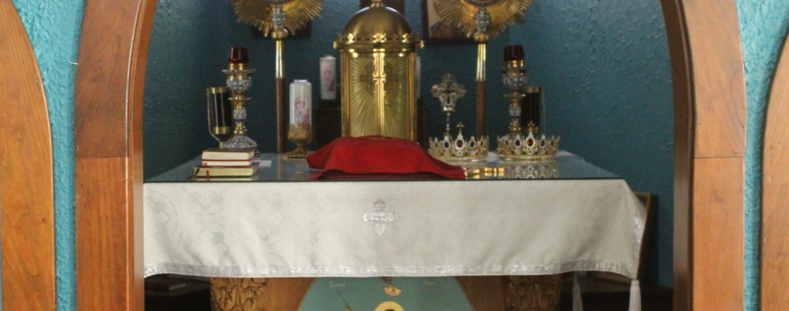 Altar at St. George of Spring Valley